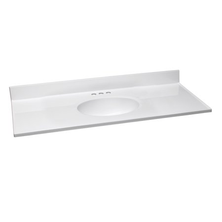 Design House 551341 37-Inch by 19-Inch Marble Vanity Top ...
