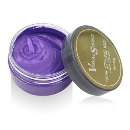 Professional Dynamic Modeling hair Color Wax Temporary Styling Unisex Hair Color Wax DIY Dyeing Wax Temporary Molding](Moulding Wax Halloween)