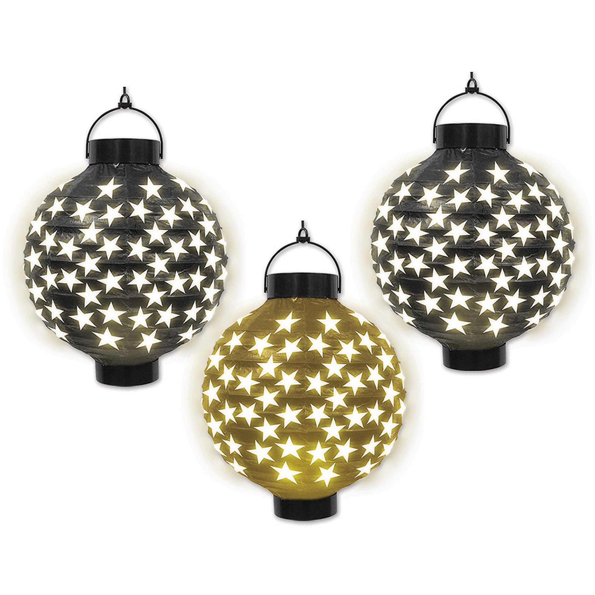 Light-Up Star Paper Lanterns