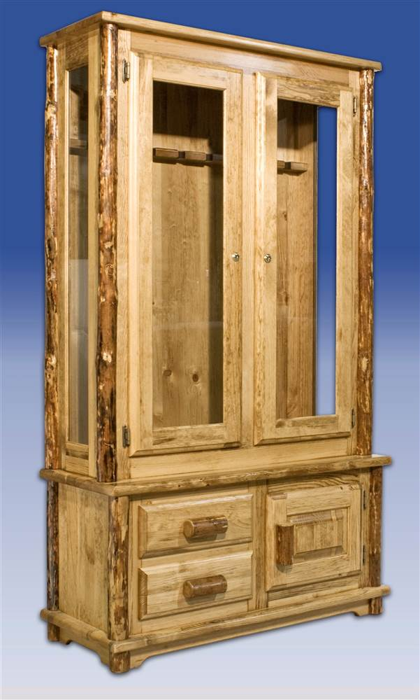 Click here to buy Montana Woodworks Glacier Country Gun Cabinet by Montana Woodworks.
