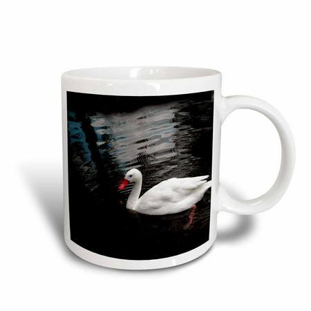 3dRose White Duck, Ceramic Mug, 11-ounce](Ceramic Duck)