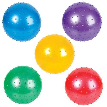 Knobby Balls - Party Knobby Bounce Balls Spike Balls- 5 Pack 5