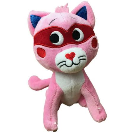 Lil Pals Adjustable Kitten (Celebrate Love Bandit Plush Kitty Cat 6.5 inch Stuffed Animal Kitten Pal + Sound )