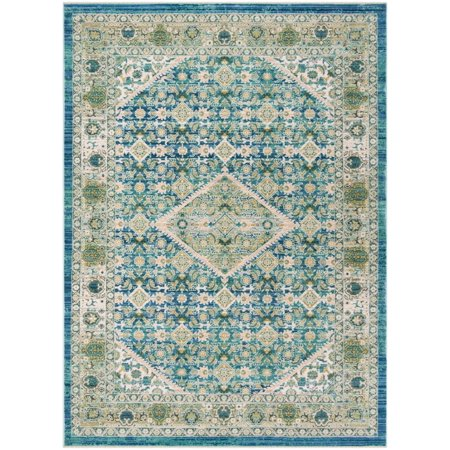 Safavieh Sutton Ivy Floral Bordered Area Rug or Runner (Ivy Cotton Rug)