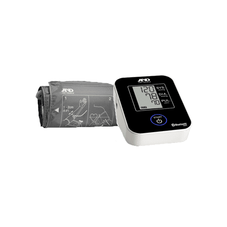 A Medical Deluxe Upper Arm Blood Pressure Monitor With Bluetooth
