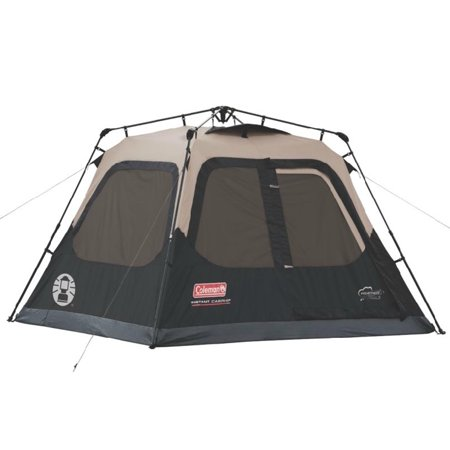 Coleman Instant Set-Up 4-Person Tent, 8' x 7 -  0007650107353