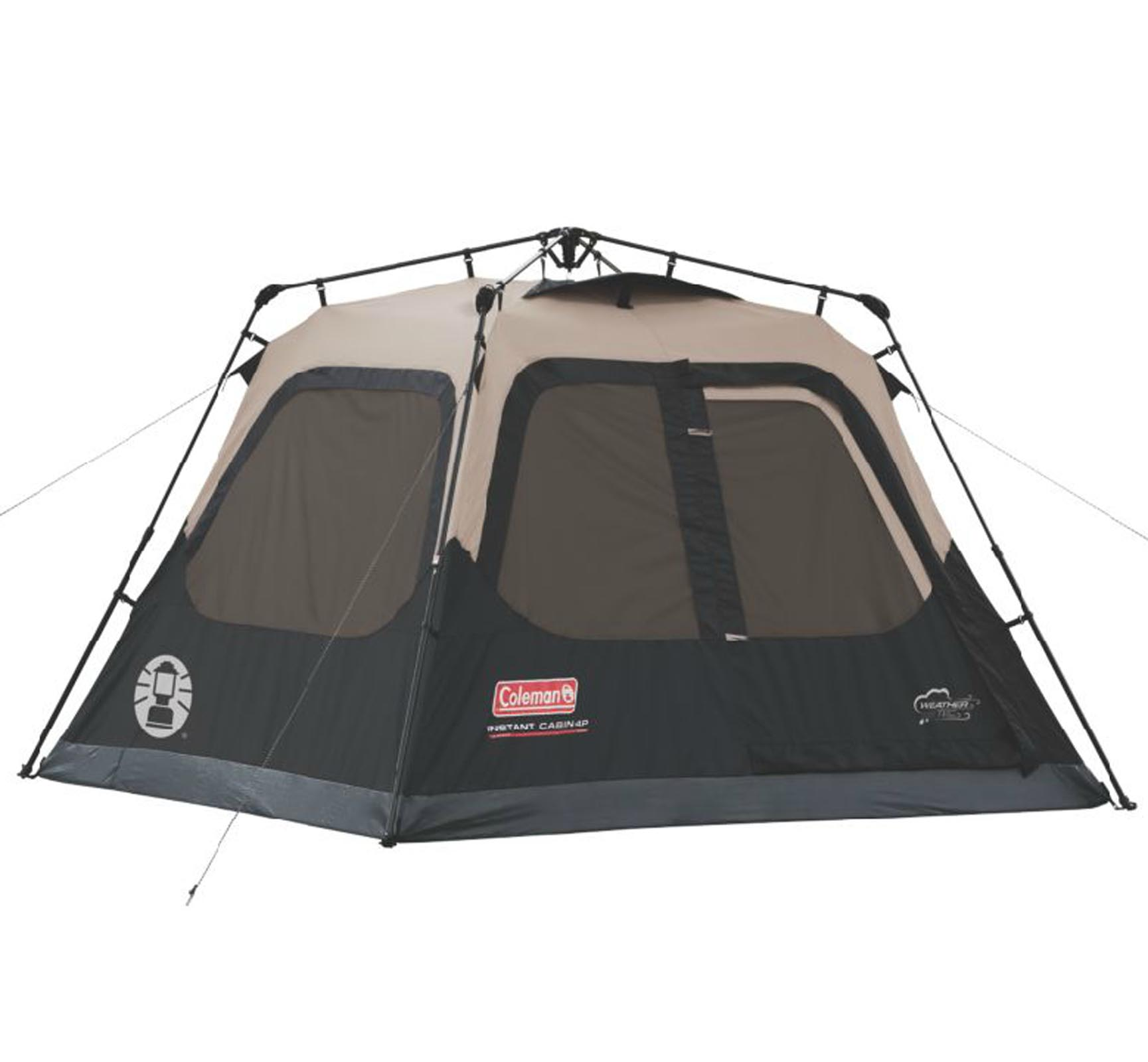 Coleman Instant Set-Up 4-Person Tent 8u0027 ...  sc 1 st  Walmart : coleman tent instant 8 person - memphite.com