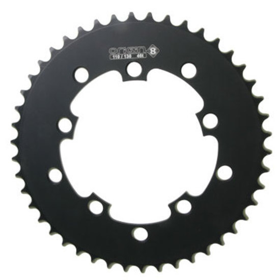 Origin-8 BMX//SS//FIXIE Chainrings Chainring 10h Or8 47t 110//130 Blk 1//8