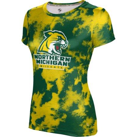 ProSphere - ProSphere Girls' Northern Michigan University Grunge Tech Tee -  Walmart com