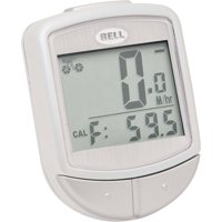 Bell Sports Wireless Cyclocomputer Speedometer Console 300, White