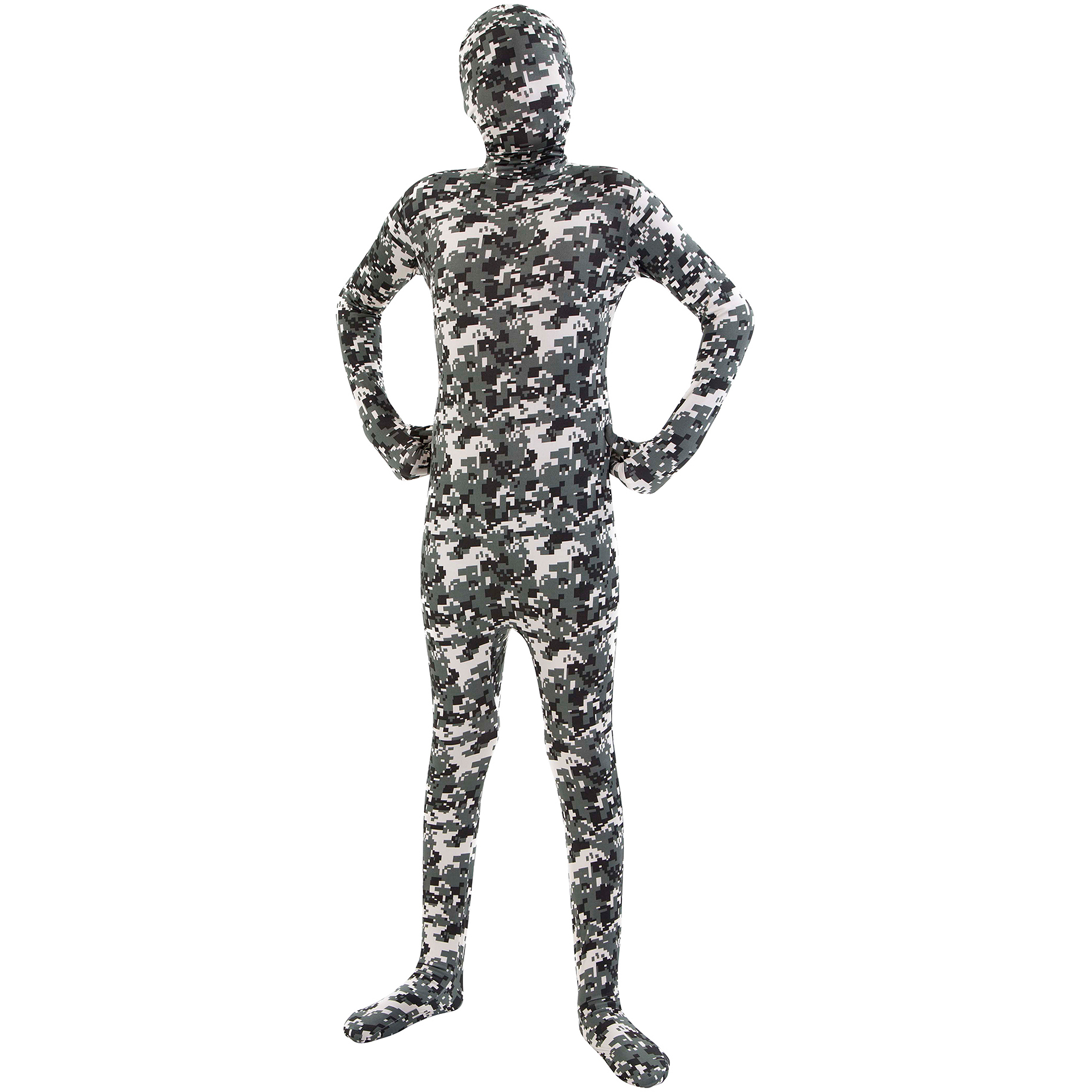 Camouflage Skin Suit Adult Halloween Costume