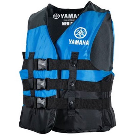 OEM Men's Yamaha Value Nylon 3-Buckle PFD Life Jacket Vest ()