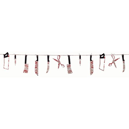 Bloody Weapons Garland](Halloween Door Garlands)