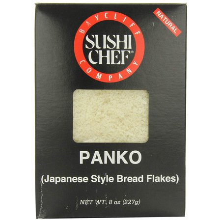 Panko (Japanese Bread Flakes), 8-Ounce Boxes (Pack of 6) Sushi