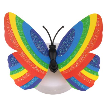 Cute Butterfly LED Light Color Changing Night Light Home Room Desk Wall Decor - image 6 of 9