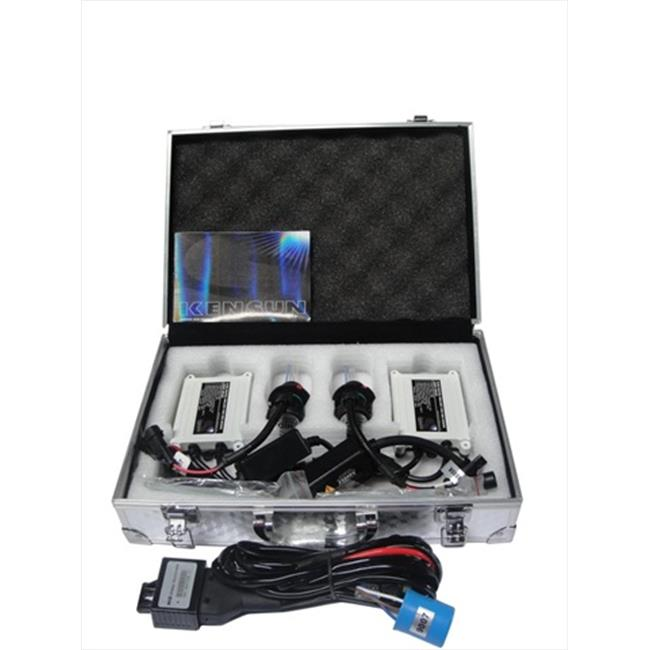 HID Xenon 8000K 35W AC Slim Kit, White With Blue Tinge