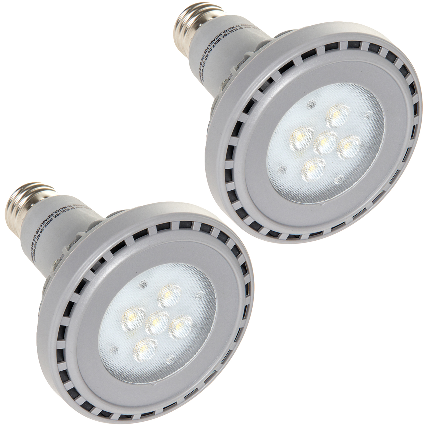 FUSION LAMPS NEW 3000K R30 Energy Efficient Indoor 10W LED Light Bulb (2 Pack)