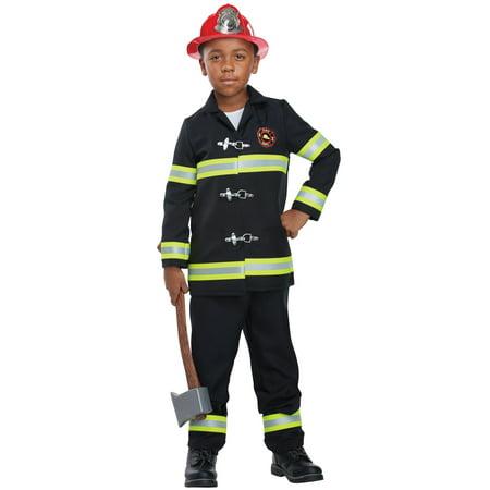 Junior Fire Chief Child Costume - Fire Chief Costume