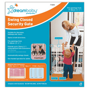 Dreambaby Chelsea Swing Close Gate-Color:White