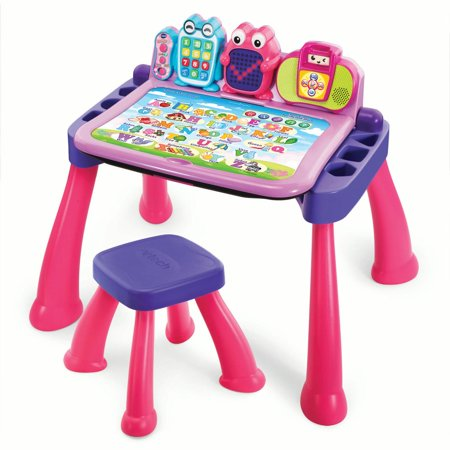 Touch & Learn Activity Desk Deluxe - (Learning Times Tables Kids)