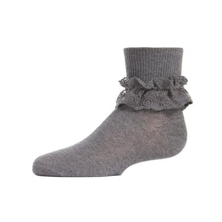 special buy latest sale agreatvarietyofmodels MeMoi Little Girl Socks with Ruffles | Girls Ruffle Socks by MeMoi 0 /  Light Grey MK 5060