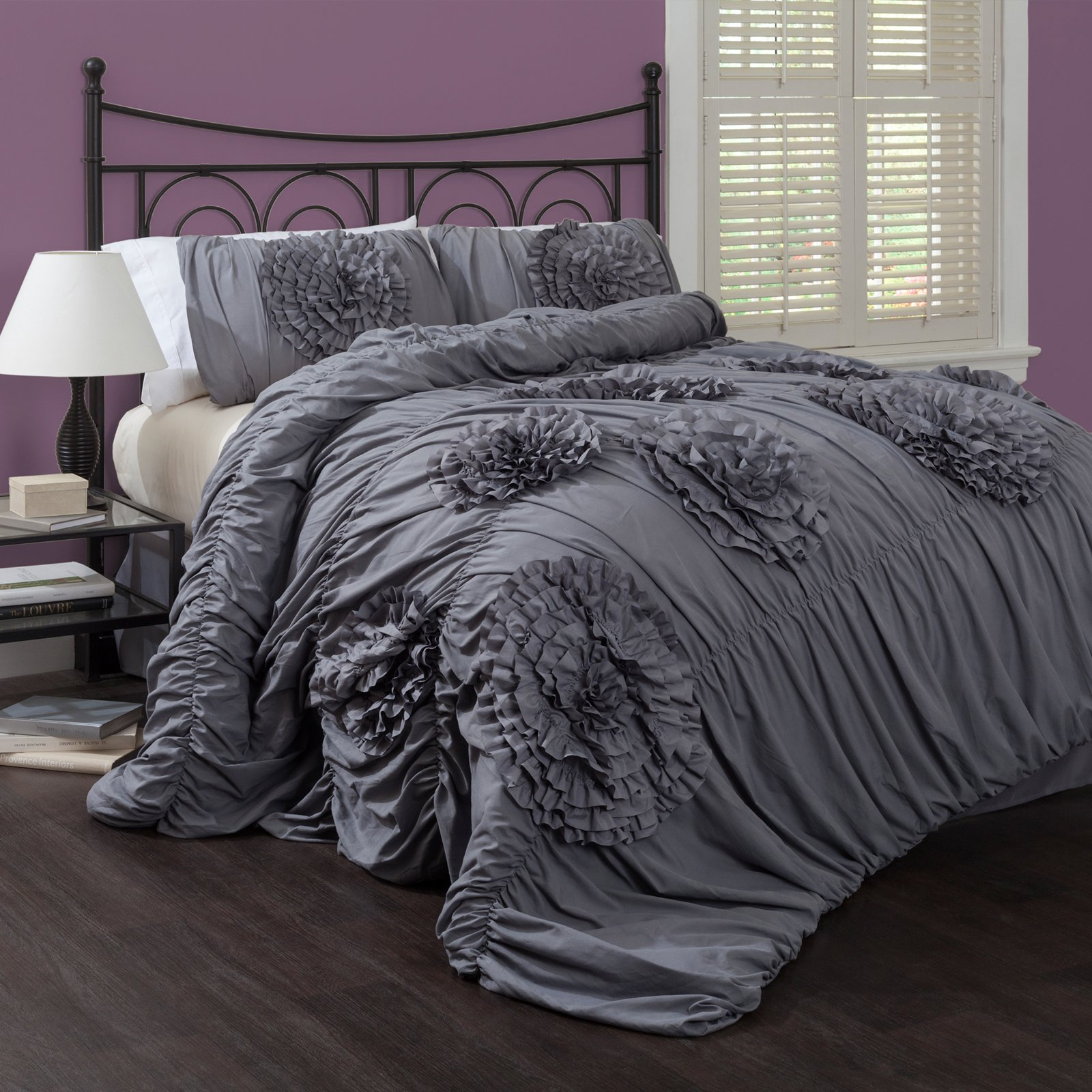 Serena 3 Piece Bedding Comforter Set