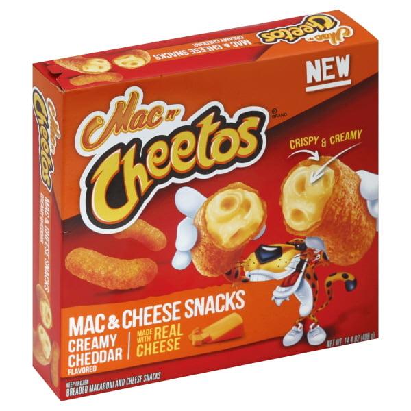 Frito Lay Mac N Cheetos  Mac & Cheese Snacks, 14.4 oz
