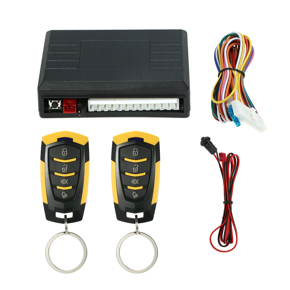 Car Remote Central Locking Kit Keyless Entry System Universal Remote Central Door Lock Kit Locking with Trunk Release