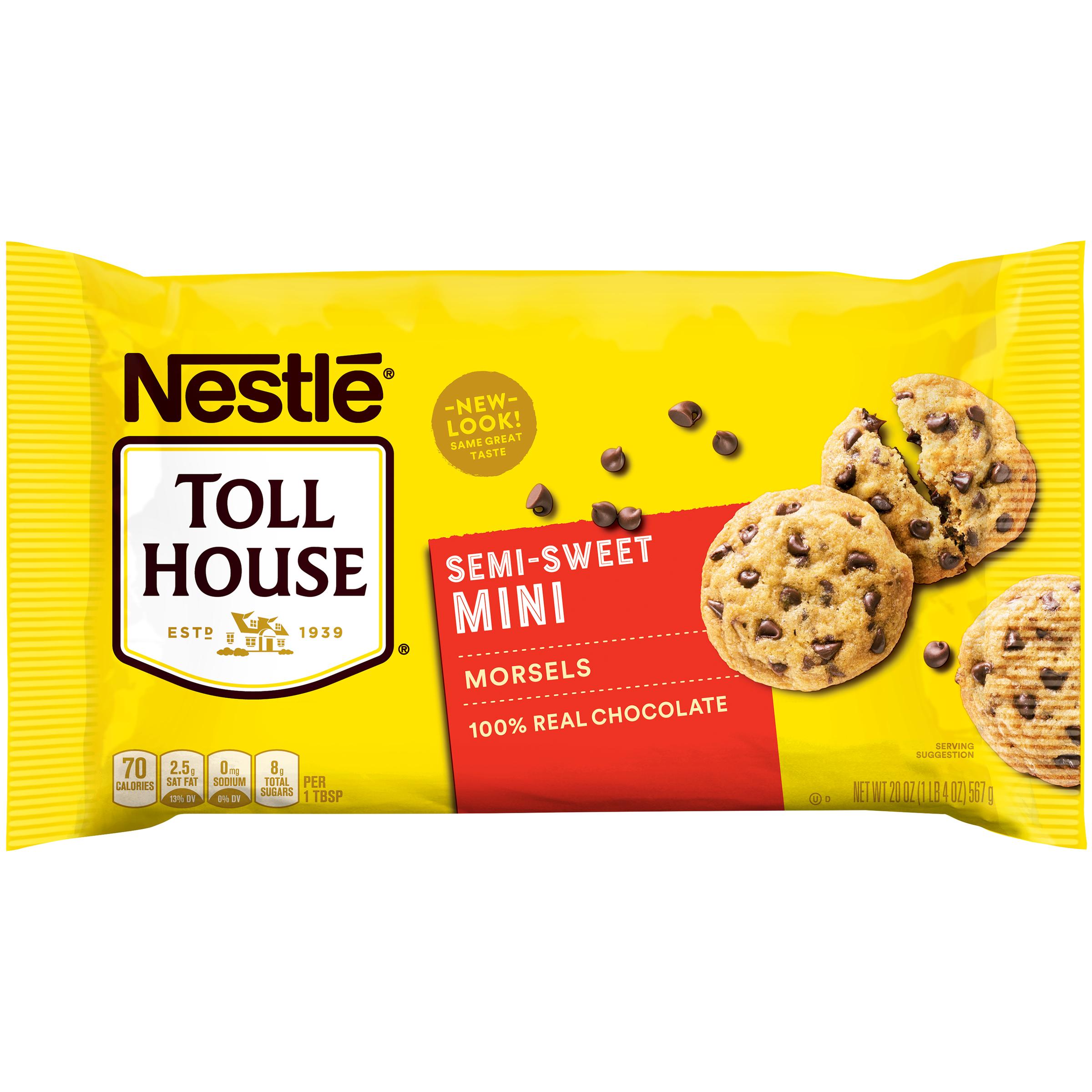 Nestle Toll House Semi-Sweet Chocolate Mini Morsels 20 oz