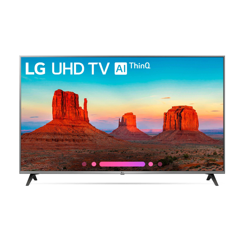 """LG 55"""" Class 4K (2160) HDR Smart LED UHD TV w/AI ThinQ - 55UK7700PUD"""
