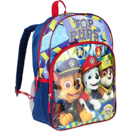 Paw Patrol Top Pups Kids Backpack - Walmart.com
