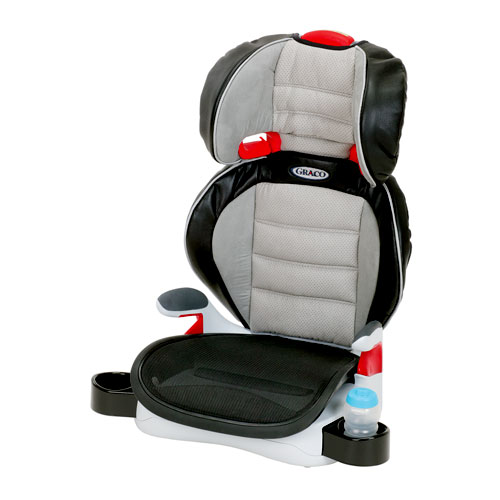 Graco - AirBooster Youth Booster Car Seat, Storm