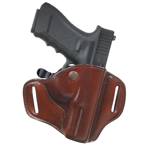 """BIANCHI CARRYLOK CONCEALMENT HOLSTER 82 FITS BELTS UP TO 1.75"""" TAN LEATHER"""