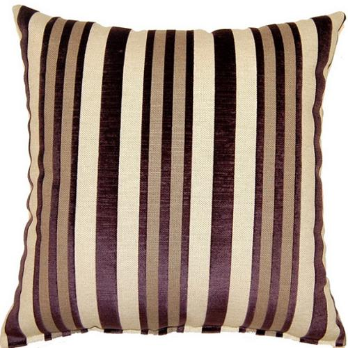 Fox Hill Trading Hillside Plum 17-inch Throw Pillows (Set of 2)