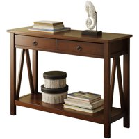 Linon Titian Console Table, 31 inches Tall, Multiple Colors