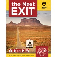 Next Exit: The Most Complete Interstate Highway Guide Ever Printed: The Next Exit 2020 (Paperback)