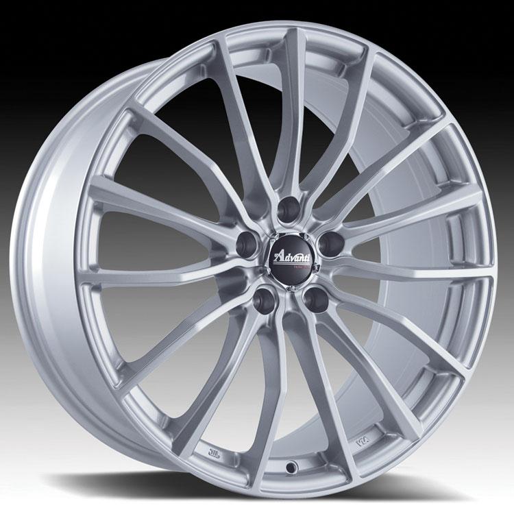 Advanti Racing B1 Lupo Silver 15x6.5 4x100 38mm (B15610038S)