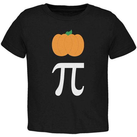 Halloween Math Pi Costume Pumpkin Day Toddler T Shirt