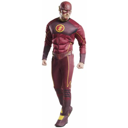 Deluxe Flash Adult Halloween Costume for $<!---->
