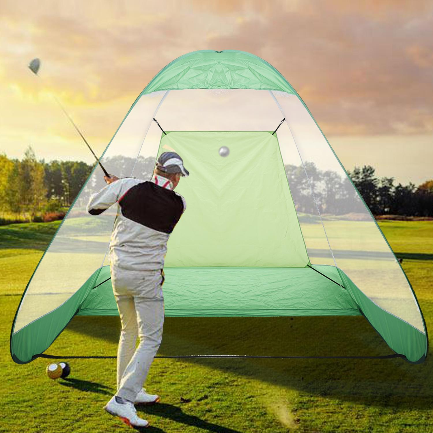 Pop-Up  Golf Practice Driving Range Net Portable With Car...