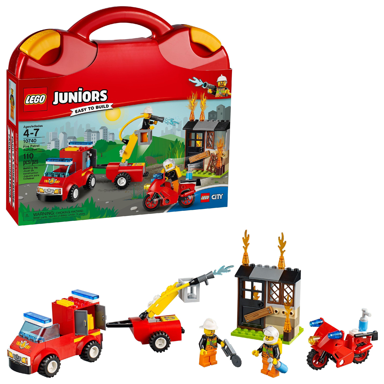 LEGO Juniors Fire Patrol Suitcase 10740 (110 Pieces)