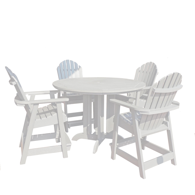 highwood® Eco-Friendly Hamilton 5pc Round Counter Dining Set