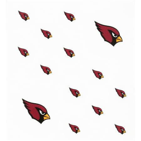 Arizona Cardinals Party Pack - Rico Industries Inc. Arizona Cardinals Peel & Stick Nail Tattoos 14 ct Pack
