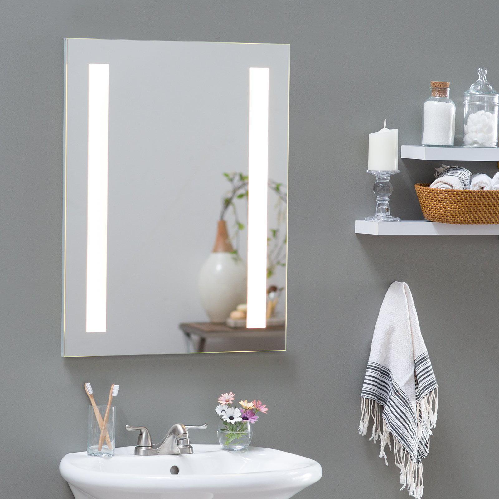 Afina Illume Backlit LED Medicine Cabinet - Walmart.com