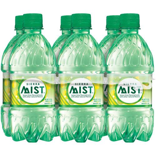 Sierra Mist Lemon-Lime Flavored Soda, 16 fl oz, 6-Pack