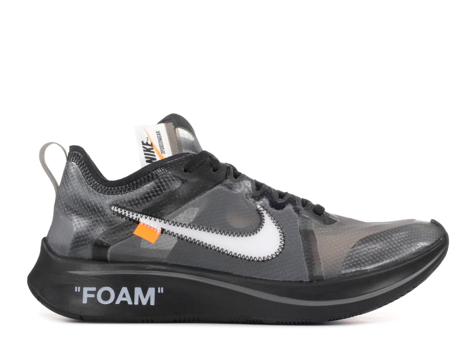 Nike - Men - The 10: Nike Zoom Fly 'Off White' - Aj4588-001 - Size 8
