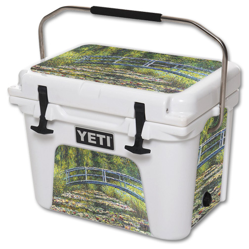 MightySkins Skin For YETI 20 qt Cooler - Almond Blossom | Protective, Durable, and Unique Vinyl Decal wrap cover | Easy To Apply, Remove, and Change Styles | Made in the USA
