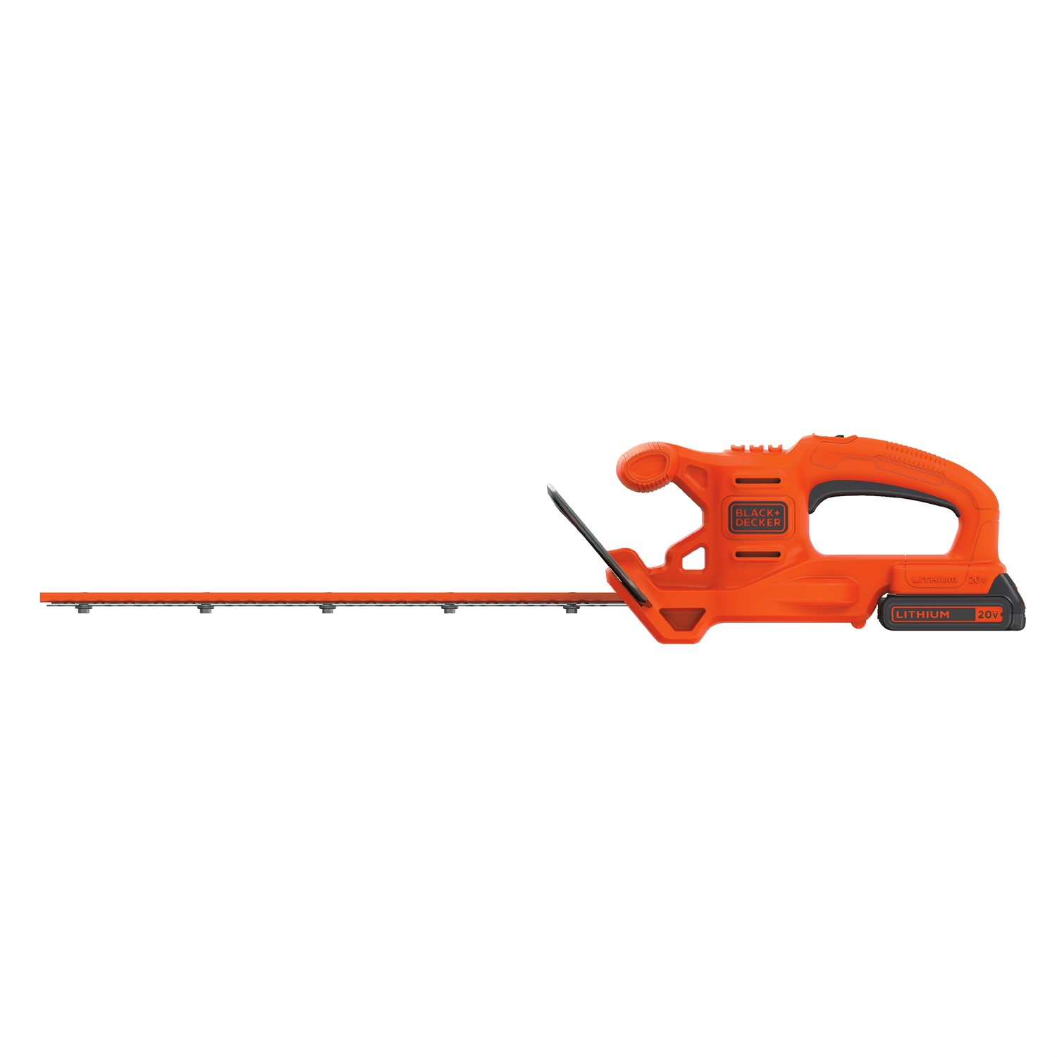 BLACK+DECKER LHT218C1 20V MAX 18-INCH LITHIUM-ION CORDLESS HEDGE TRIMMER
