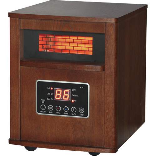 DuraHeat 1500 Watt Portable Electric Infrared Cabinet Heater with ...
