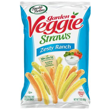 Sensible Portions Garden Veggie Straws, Zesty Ranch, 7 oz. for $<!---->